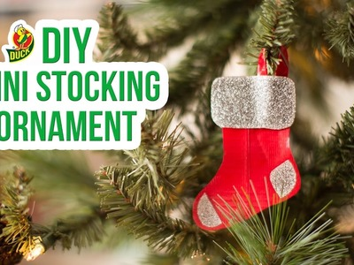 How to Craft a Duck Tape® Mini Stocking Ornament