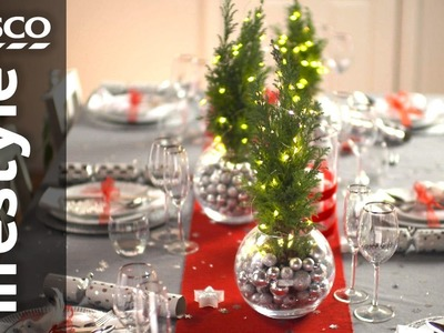 How to Dress your Christmas Table | Tesco