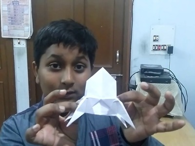 How to make a paper rocket in Hindi