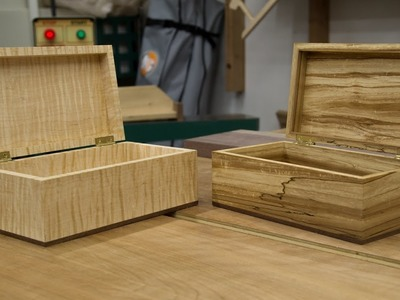 How to make a wooden box