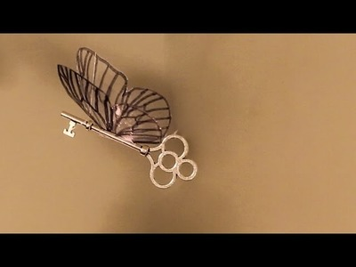 How To Make Flying Keys From Harry Potter!