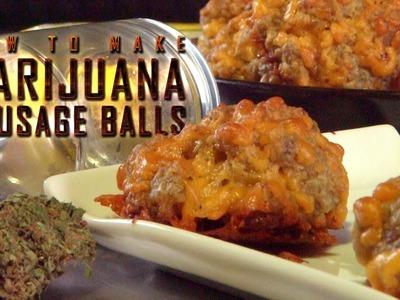 How to Make Marijuana Sausage Balls (Grandma's Merryjuana Balls): Cannabasics #35