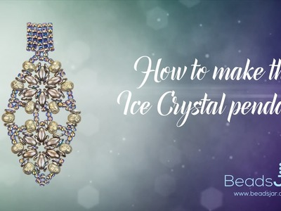 How to make this Ice Crystal pendant | Seed Beads