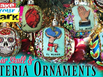 How to: Sugar Skull And Lotería Ornaments