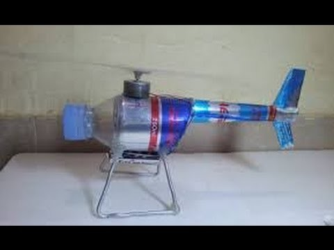 SImple Idea - How to make a Electric Motor Helicopter by