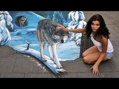 50 More Amazing 3D Street Art Paintings You Must to See