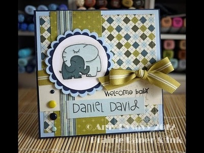 AmyRs 2012 Baby Card Series - Card 1