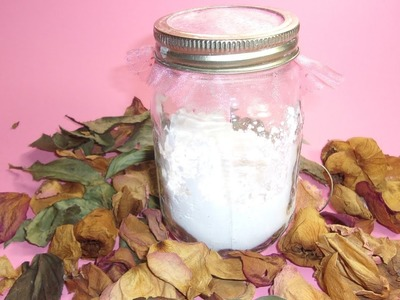 An Inexpensive Christmas Gift, Perfumed Body Powder for Men or Women with Shimmer Option