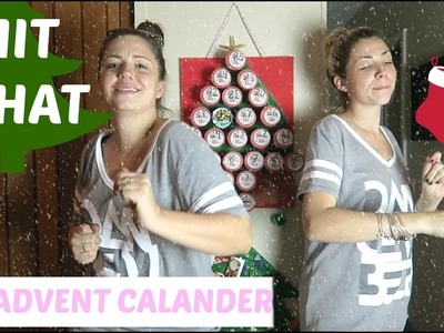 CHIT CHAT SESH - DIY CHRISTMAS ADVENT CALENDAR DANCEMBER