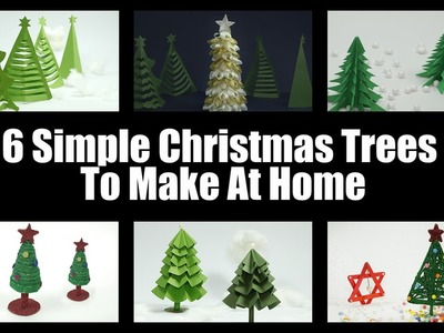 Christmas Tree Ideas- 6 Stunning Christmas Trees That You Can Easily Make At Home