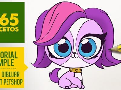 COMO DIBUJAR LITTLEST PET SHOP KAWAII PASO A PASO - Dibujos kawaii faciles - draw Littlest Pet Shop