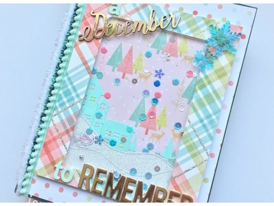 December Daily Junk Journal.Altered Book