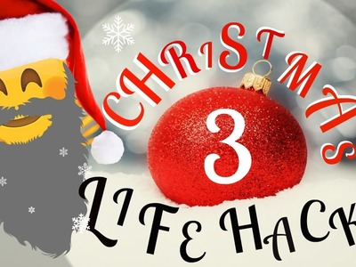 Christmas Life Hacks.Christmas Diy Christmas Life Hacks 3 Diy Christmas Hacks