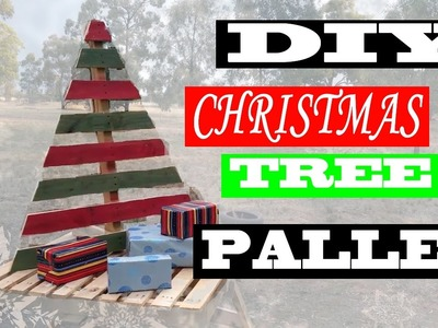 DIY Christmas Tree Pallet!