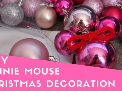 DIY Minnie Mouse Christmas Decoration