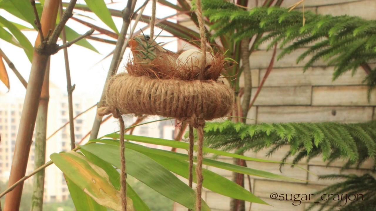DIY Room Decor - Bird Hanging