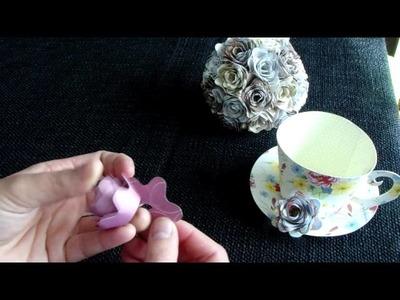 How To Make A Cricut 3D Flower