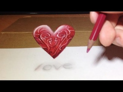 Make a Magic 3D Heart - Drawing