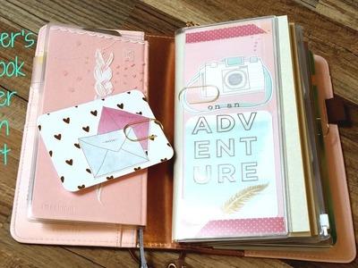 Midori Insert Zipper Pouch dashboard Traveler's Notebook