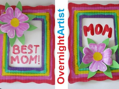 Mother's Day Gift Ideas - Easy Flower 3D Pop Up Frame