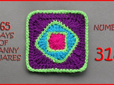 365 Days of Granny Squares Number 318