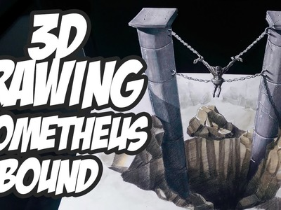 3D Drawing -  My Version of Prometheus Bound