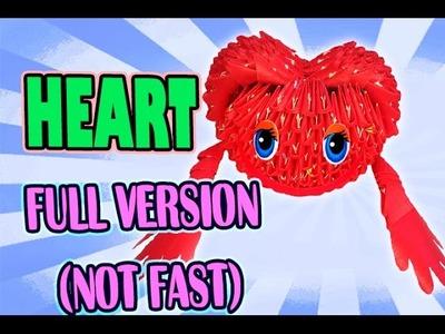 3D MODULAR ORIGAMI #52 HEART FULL VERSION