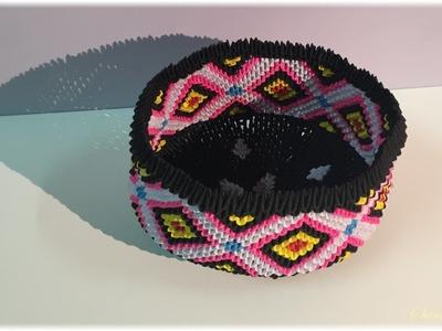 3d Origami - Basket 7
