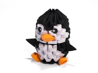 3D Origami Mini Penguin Giveaway