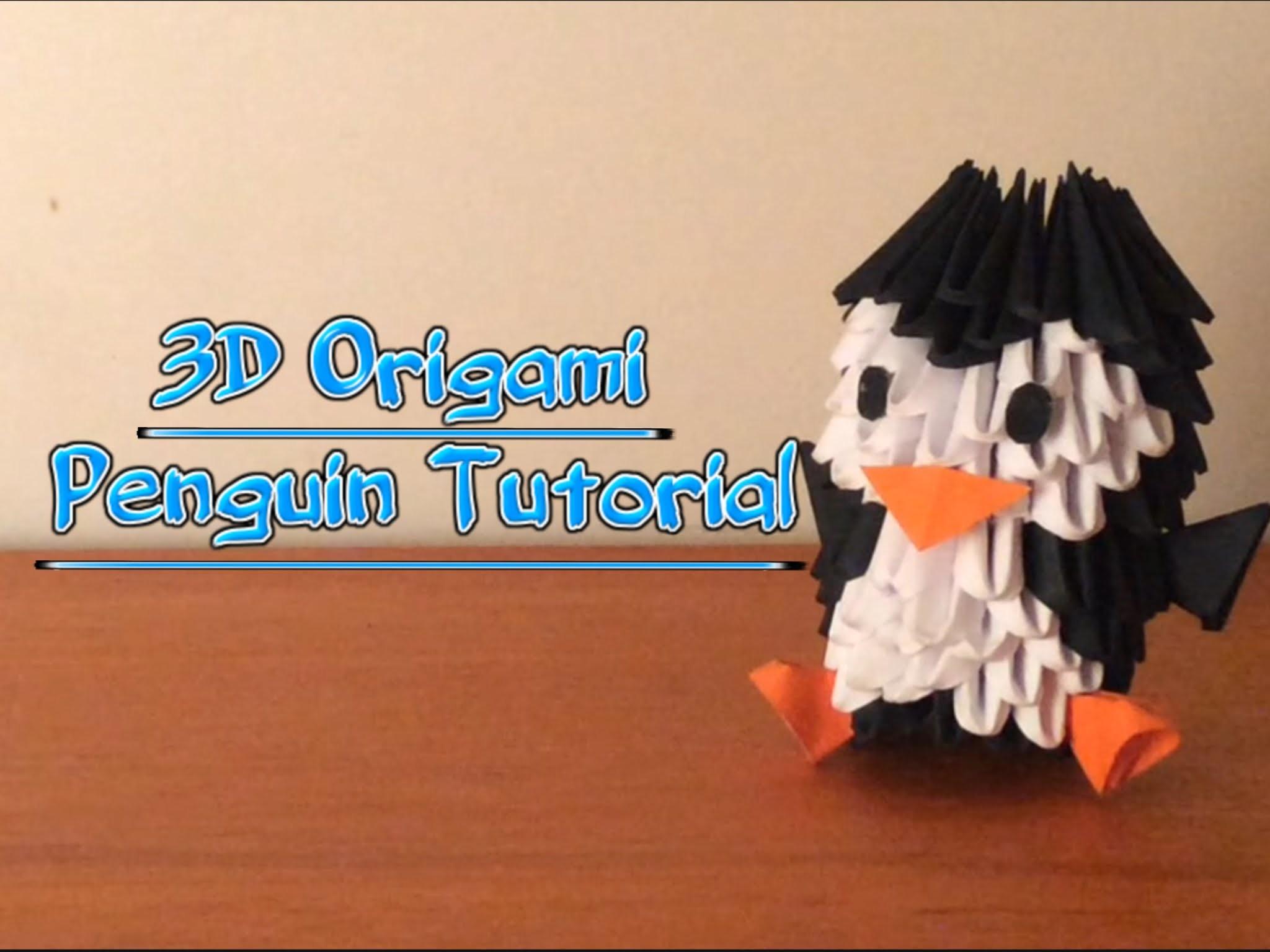 3d Origami Penguin Tutorial