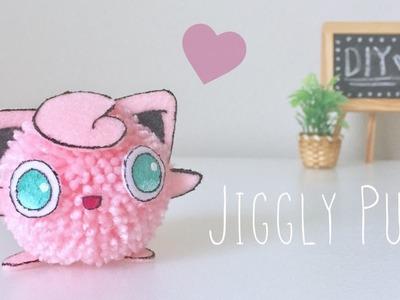 DIY Jiggly Puff Pom Pom character
