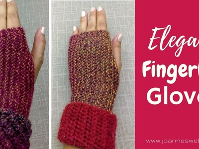 Elegant Fingerless Gloves