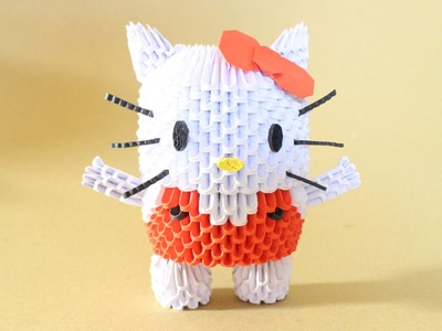 How To: 3D Origami Hello Kitty