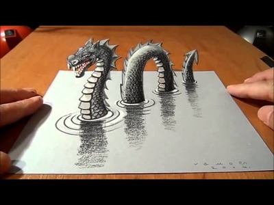 The best drawing in the world make 3D