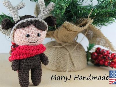 Amigurumi reindeer doll: amigurumi: tutorial in EN