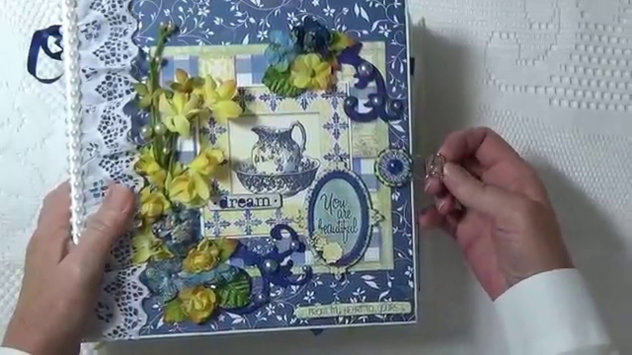 """Bo Bunny """"Genevieve"""" Mini Album. DT Project For Country Craft Creations"""