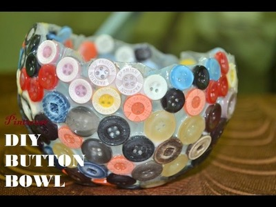 Button BOWL Pinterest How to Make a Knoop Glue Craft and Trays Man Vs Pin!!