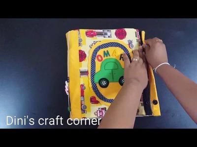 Cars activity Quiet book-Dini's Craft Corner