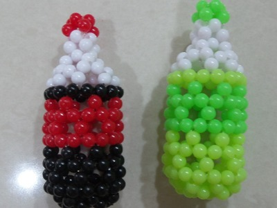 Cola Manik Mote Beads . How To Made Beaded Tutorial. Bead Craft