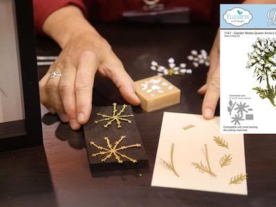 Elizabeth Craft Designs: Susan's Garden Club - Garden Notes Queen Anne's Lace