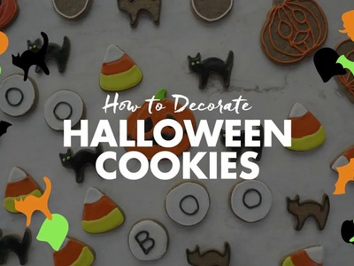 How to Decorate Halloween Cookies