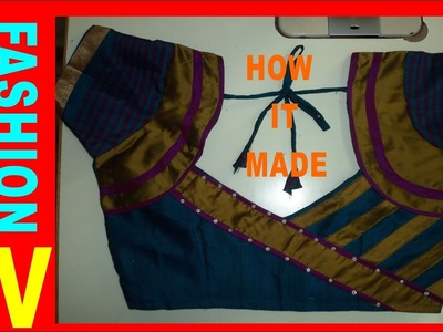 HOW TO MAKE DESIGNER BLOUSE AT HOME-18(PART -2)