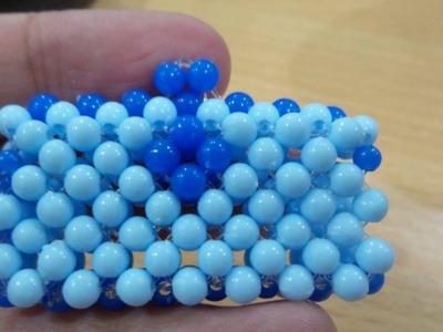 Tas Dompet Manik Beads . How To Made Beaded Tutorial. Bead Craft