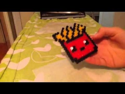 Tutorial come si stirano i pyssla. Hama Beads