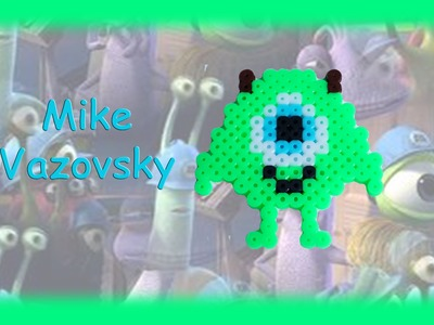 TUTORIAL Hama Beads Pyssla Perler Beads. How to Make Mike Vazovsky