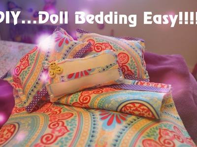 American Girl Doll Bedding ! Easy!