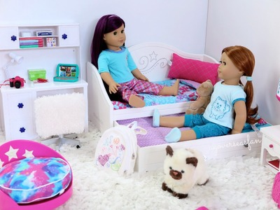 American Girl Doll Trundle Bed & Bedding Set ~ NEW!