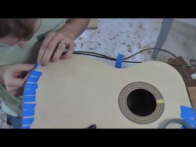Build a Guitar, Part 9, Binding and Bridge