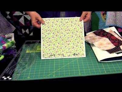 Creative Grids Non-Slip Split Seconds Ruler 7'' to 18'' Unit Designed by Karla Alexander