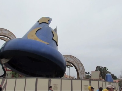 Deconstruction of Sorcerer Mickey Hat at Hollywood Studios (1.15.15)